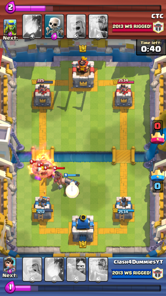 Best Arena 7 Deck Royal Giant Defensive