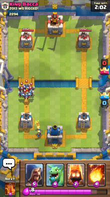 Minion Horde vs Princess Clash Royale