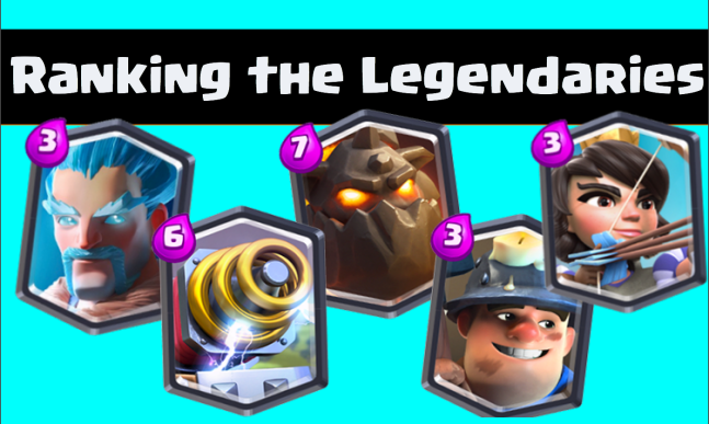 Clash Royale Best Legendary Cards
