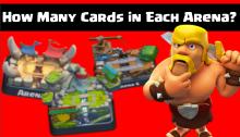 Clash Royale Cards Arenas