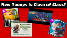 New Troops Clash of Clans