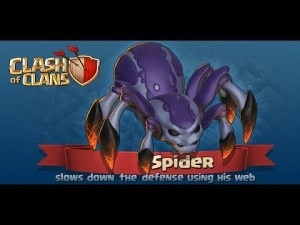 New Troop Spider Clash of Clans