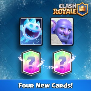 Four New Cards Clash Royale