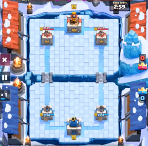 Frozen Peak Gameplay Clash Royale