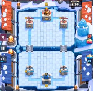 Frozen Peak Gameplay Clash Royale