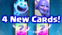 4 New Cards July 2016 Update