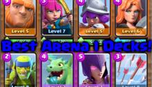 Best Arena 1 Deck Clash Royale