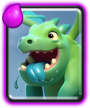 Baby Dragon Clash Royale
