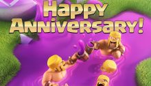 Clash of Clans Anniversary