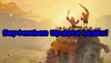 Clash of Clans September 2016 Update Leaked
