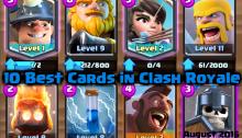 Clash Royale Best Cards