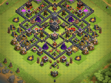 Clash of Clans Hidden Tesla Farming Strategy