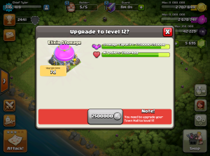 Clash of Clans Upgrade Order Elixir