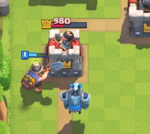 Clash Royale Mega Minion on Offense Miner
