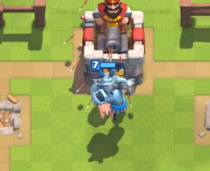 Clash Royale Mega Minion on Offense Hog