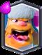 Clash Royale Legendary Card Lumberjack