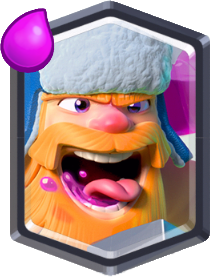 Clash Royale Legendary Card Lumberjack