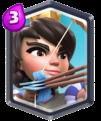 Clash Royale Legendary Card Princess