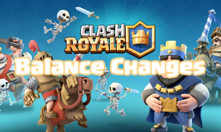 Clash Royale Balance Changes Update 10/9
