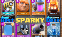 Best Sparky Deck Arena Clash Royale