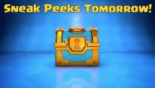 Clash Royale Sneak Peeks Update Tomorrow