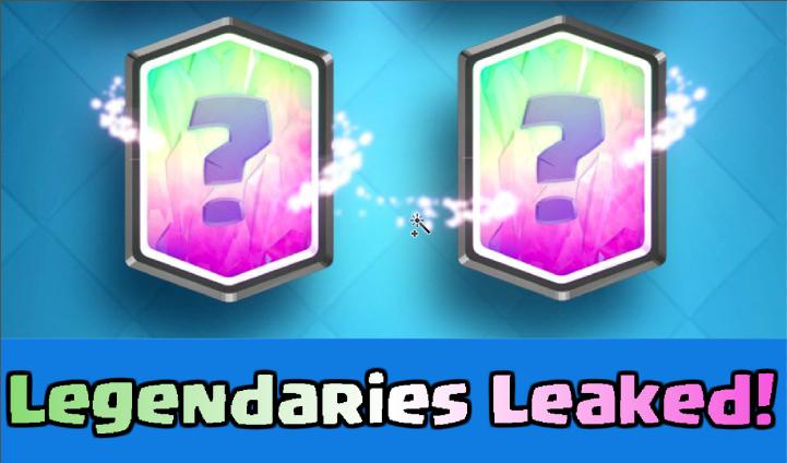 Clash Royale Update New Legendaries Leaked
