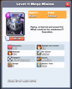 Clash Royale Update New Card Mega Minion