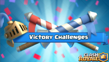 Clash Royale Update Victory Challenges