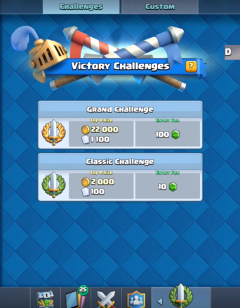 Clash Royale Update Tournament Challenges