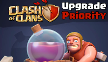Clash of Clans Upgrade Priority
