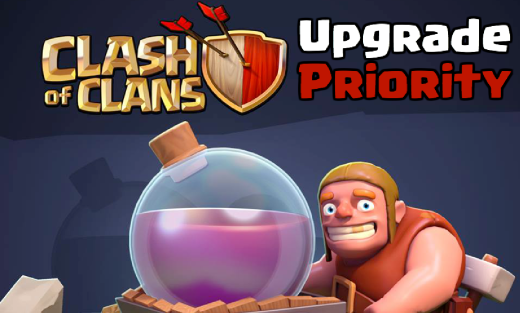Clash of Clans Upgrade Priority