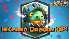 Clash Royale Inferno Dragon New Legendary