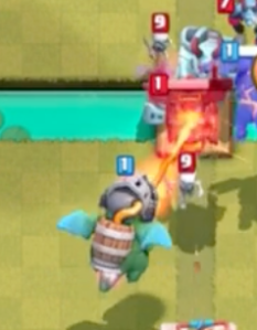 Clash Royale Inferno Dragon vs Lava Hound