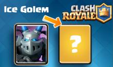Clash Royale Ice Golem New Card