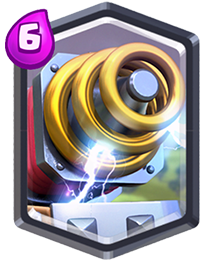 Clash Royale Legendary Card Sparky