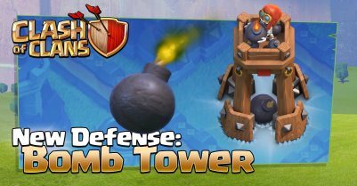 Clash of Clans Bomb Tower Sneak Peek Update