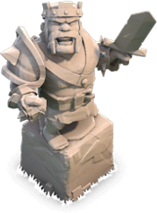 Clash of Clans New Barbarian King Statue