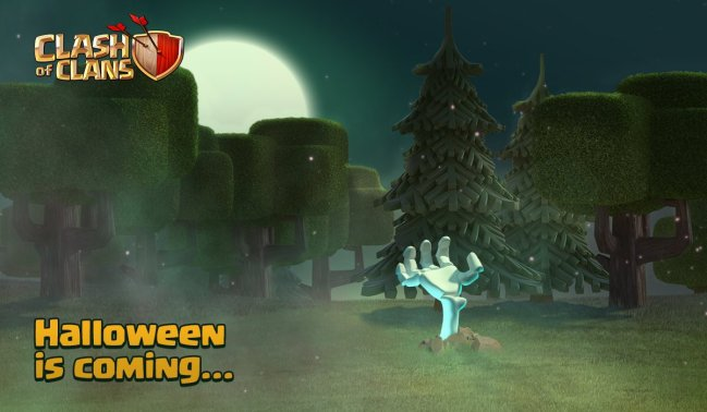 Clash of Clans 2016 Halloween Update Theme