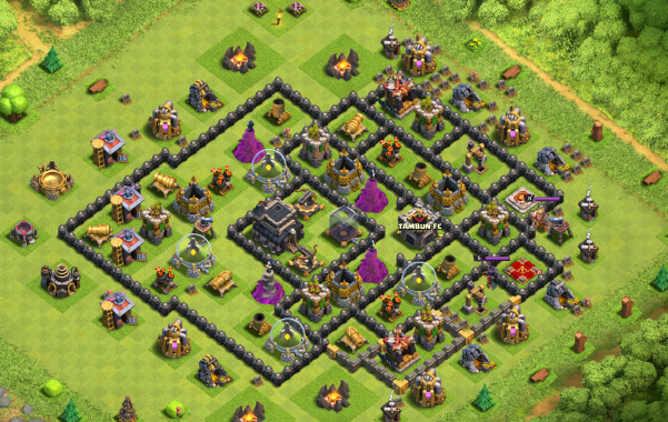 Clash of Clans Dead Base Loot Barch Farming