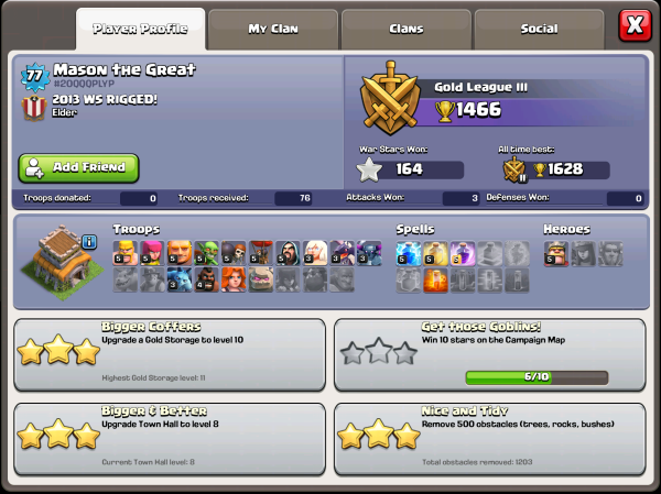 Clash of Clans How to Add Friends October Update