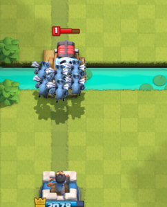 Clash Royale Counter Sparky Minion Horde