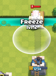 Clash Royale Counter Sparky Freeze