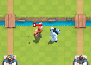 Ice Golem Defensive Strategy Pull