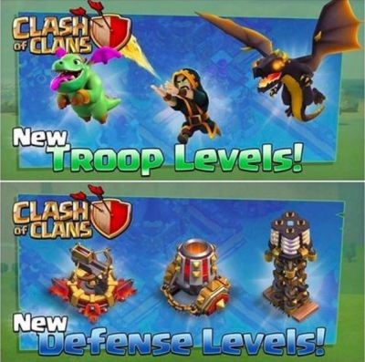 Clash of Clans October 2016 Update New Levels