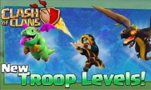 Clash of Clans October Update New Troops