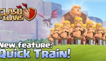 Clash of Clans Quick Train Army Training Update