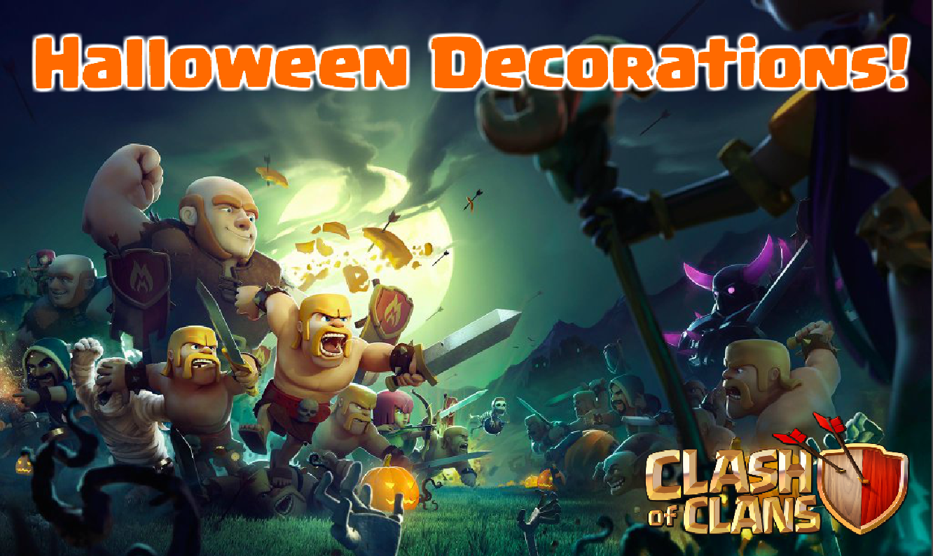 New Halloween Decorations in October 2016 Update | Clash for Dummies
