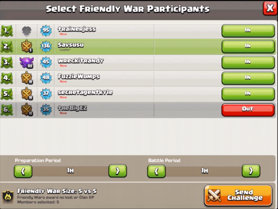 Clash of Clans October Update Sneak Peek Arranged Wars