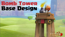Clash of Clans Bomb Tower Base Design Layots