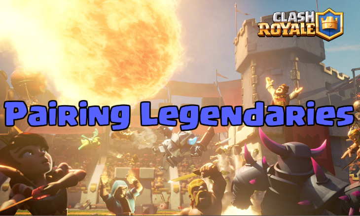 Clash of Clans Pairing Legendary Cards